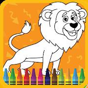 Kids Coloring Book : Cute Animals