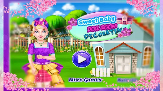 Sweet Baby Doll Room Decoration Screenshot