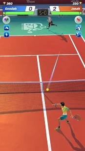 Tennis Clash: 3D Sports - Free Multiplayer Games Screenshot