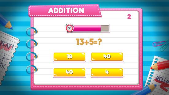 Math Challenge Games - Cool Math Games Screenshot