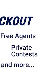 MockOut - Mock Draft Game for the NFL Draft Screenshot