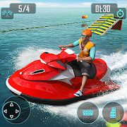 Jet Ski Stunts : Water Surfing Sports