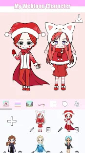 My Webtoon Character - K-pop IDOL avatar maker Screenshot
