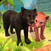 Panther Family Sim Online - Animal Simulator