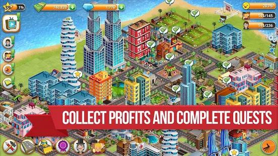 Village City - Island Simulation Screenshot