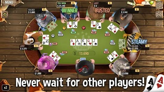 Governor of Poker 2 - OFFLINE POKER GAME Screenshot