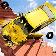 Beam Drive NG Death Stair Car Crash Simulator