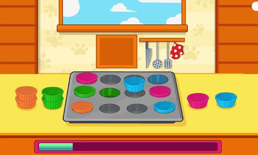 Cook Flower Garden Cupcakes Screenshot