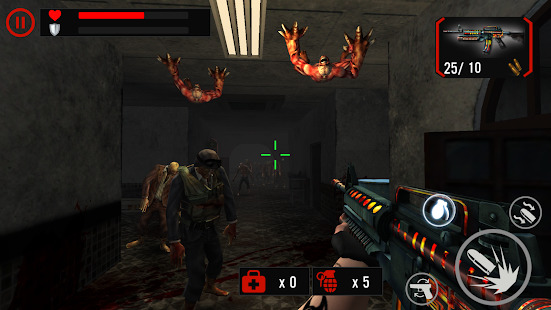 Zombie Crushers: FPS ZOMBIE SURVIVAL Screenshot