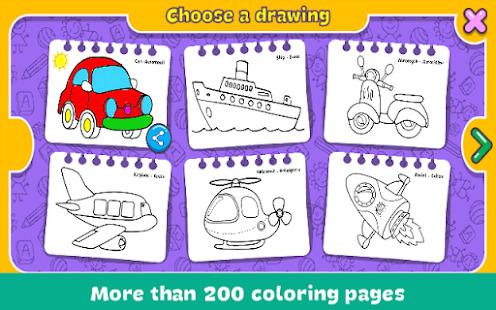 Coloring & Learn Screenshot