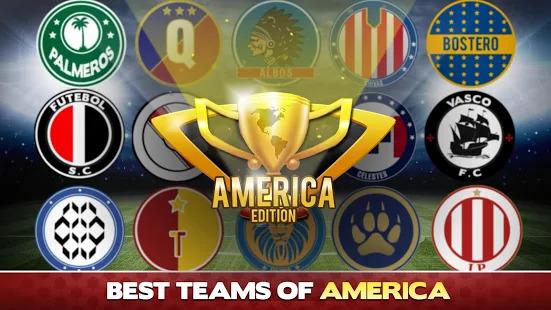 Soccer Caps Stars League Copa America 2018 Screenshot