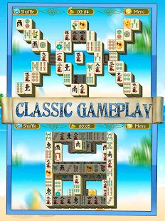 Games lol   Game » Mahjong Summer Solitaire Journey Free