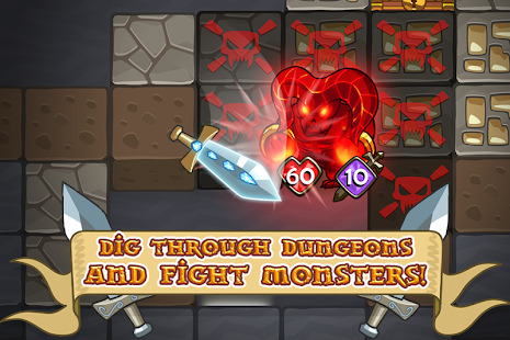 Mine Quest - Crafting and Battle Dungeon RPG Screenshot