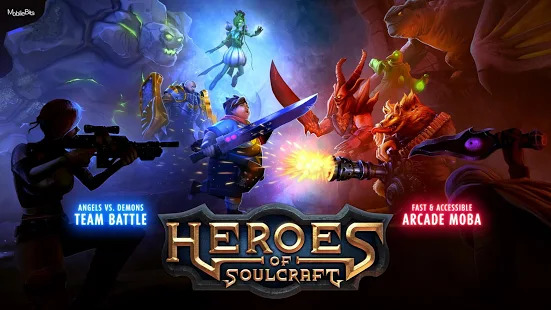 Heroes of SoulCraft - MOBA Screenshot