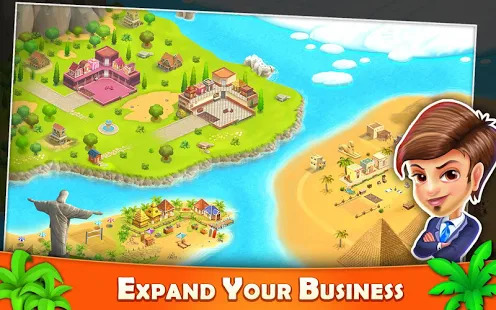 Resort Tycoon - Hotel Simulation Game Screenshot