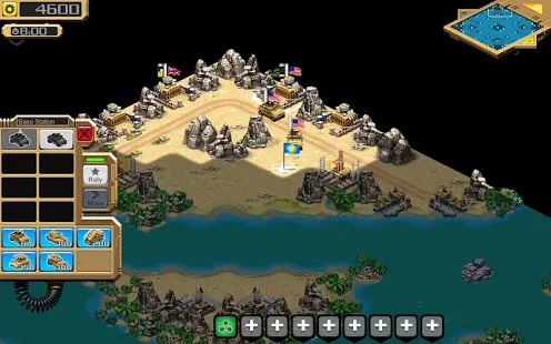 Desert Stormfront - RTS Screenshot