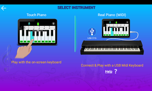 Real Piano Teacher Screenshot