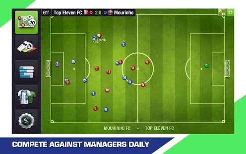 Top Eleven 2019 -  Be a soccer manager Screenshot