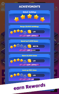 Merge City: idle city building game Screenshot