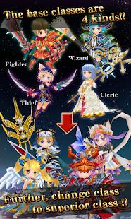 RPG Elemental Knights R MMO Screenshot