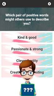 What UT Character Are You Personality Test Screenshot