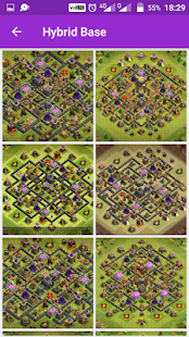 COC Base Map for TH9 Screenshot