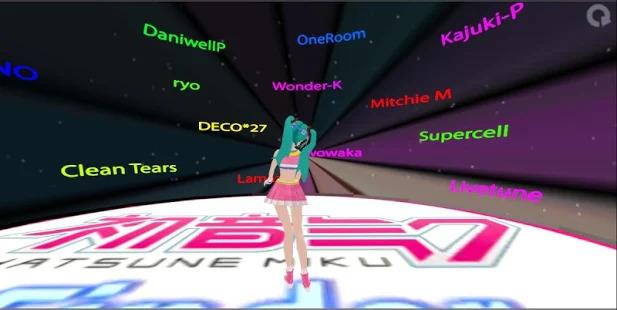 Finder: Hatsune Miku Game Screenshot