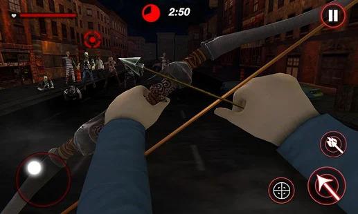 Archer Hunting Zombie City Last Battle 3D Screenshot