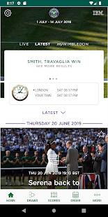 The Championships, Wimbledon 2019 Screenshot