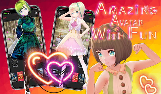 Lovley Avatar: Anime Avatar Maker Screenshot