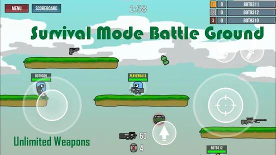 Call of Mini Doodle Army Frag Popg Mini Game Screenshot