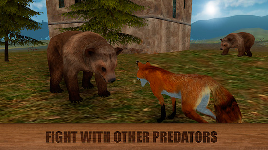 Wild Fox Survival Simulator 3D Screenshot