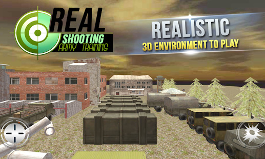 Real Shooting Army Training Screenshot
