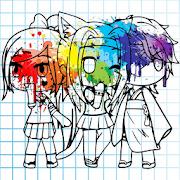 Gacha Coloring Book