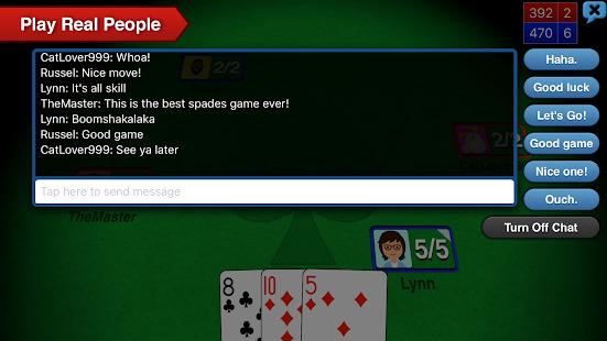 Spades + Screenshot