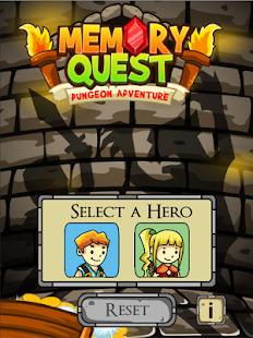 Memory Quest:Dungeon Adventure Screenshot