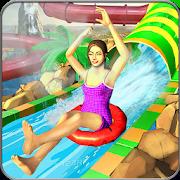 Giant Water Slide Adventure: Water Park Racing