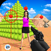 Apple Target Shoot: Watermelon Shooting Game 3D