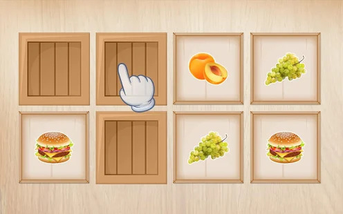 Food puzzle for kids Screenshot