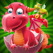 Surprise eggs - open cute magic dragons eggs