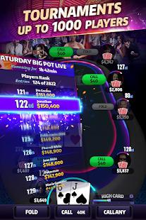 Mega Hit Poker: Texas Holdem massive tournament Screenshot