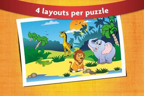 Kids Peg Puzzle - Free Toddler Shape Games Screenshot
