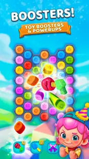 Toy Party: Pop and Blast Blocks in a Match 3 Story Screenshot