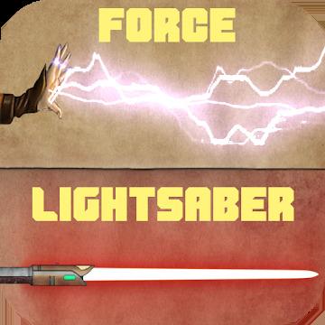 Force & lightsaber (staff saber, dual, lightning)