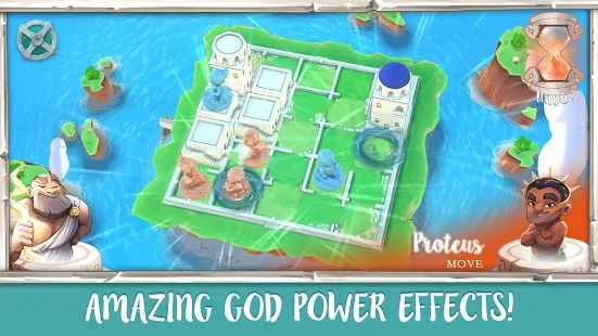 Santorini Board Game Screenshot