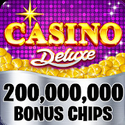 Casino Deluxe Vegas - Slots, Poker & Card Games
