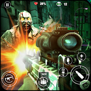 Zombies Mad Warfare: Undead Zombies FPS Shooting