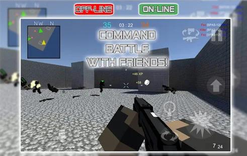 War Cube Online Offline Mobile Zombie Sniper Shoot Screenshot
