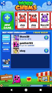 Word Chums Screenshot