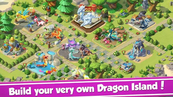 Dragon Mania Legends - Animal Fantasy Screenshot